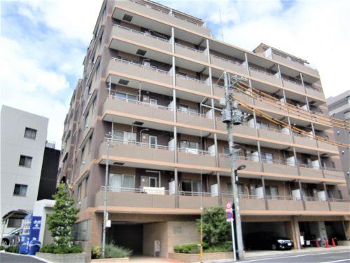 開発の進む【飯田橋】駅。そこから徒歩5分の分譲タイプマンション。